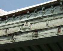 Détail des plafonds en bois