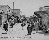 Rue principale du Mellah